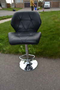 Chrome / Leather  Bar Stool!!!