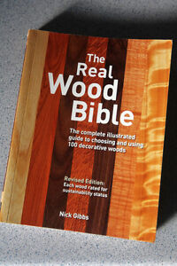 The Real Wood Bible manual, descriptive illustrated book. $10