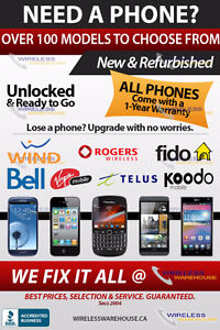 WIRELESS WAREHOUSE - UNLOCKED PHONES BEST SELECTION  & PRICES !