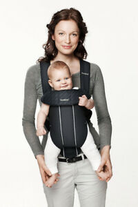 BabyBjorn Baby Carrier (Original Black Classic) - 3.5 to 11 Kg