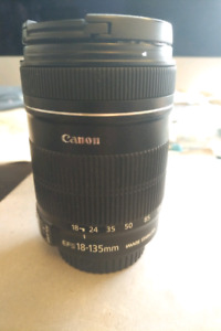 CANON ZOOM LENS EF-S 18-135MM IS / MINT 10/10