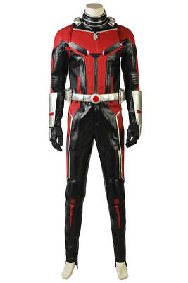 Ant-Man and the Wasp Trailer 2 Uniform Full Set Cosplay Costume Halloween Xmas ()