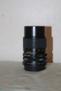 Canon FD lenses and Tokina  Auto