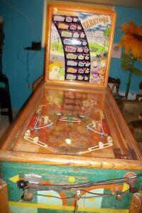 1948 Saratoga pinball machine 1948