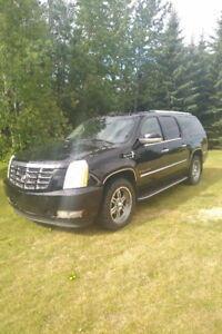 escalade for sale 2008  esv caddilac