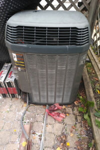 Forced air conditioner