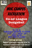 DODGEBALL LEAGUE!!!