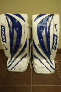 Bauer Supreme Youth goalie pads-28""