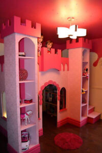 Castle Bed Module for Kids