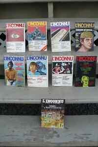 L'INCONNU ( $ 10.00 POUR 18 REVUES )