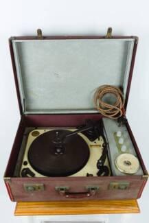 Garrard Vintage Suitcase 1950's Record Player