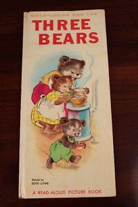 Goldilocks and the Three Bears by Edith Lowe (1966, Hardback)