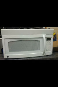 Over the range microwave - like new!!