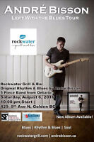 Andre Bisson Band  -Original Rhythm & Blues at Rockwater Grill