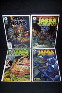 1995 Dark Horse Star Wars Jabba the Hut Comic Lot 4x#1