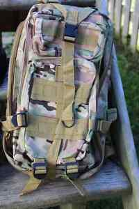 Military style ruck sack