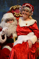 Santa & Mrs. Claus now taking bookings for Christmas !