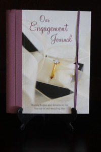 Our Engagement Journal *** Bridal Shower Gift Idea ***