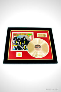 LIMITED EDITION ETCHED GOLD LP 'KISS - HOTTER THAN HELL'