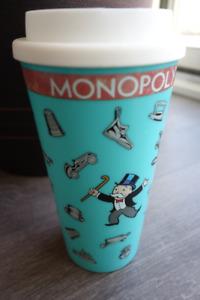 Monopoly Coffee Travel Tumbler Mug
