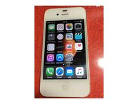 Apple iPhone 4s on ee white