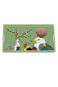 Paperproducts Design Wooden Vanity Tray - NEW