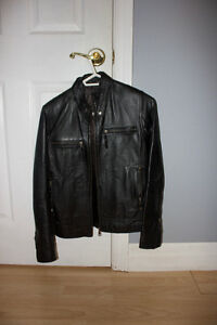 Women's Casual Leather Jacket