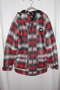 The North Face Jacket, Plaid Print