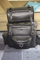 GENUINE LEATHER KTC TAIL PACK FOR MOTORCYCLE