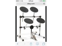Practis drum kit with stool