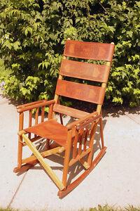 Costa Rica Artisian Rocking Chair