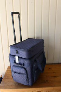 rolling sewing machine trolley/tote/bag/suitcase