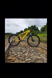 Dirt jumper for sale come with a extra frame