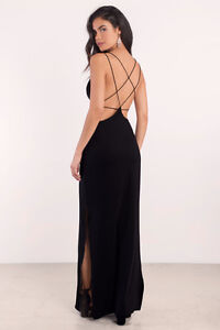 Tobi Timeless Black Formal Dress (With Tags)