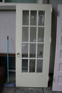Antique Solid wood Frednch Door