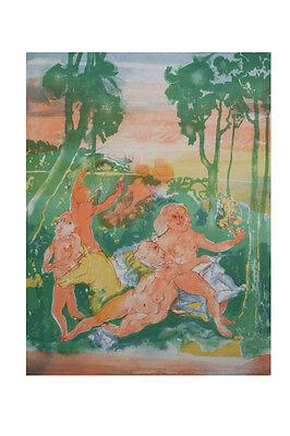 Heinrich Richter, 1920 - 2007 - Das Spiel der Venus 5 Original-Lithographiene