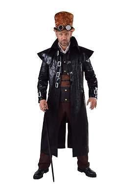 ock Rokoko Kostüm Mittelalter Gothic Piraten Gangster Mantel (Alte Gangster Kostüme)