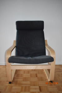 Confortable Ikea chair for living room!