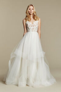 Blush by Hayley Paige - Halo Wedding Dress/Gown (S 8, SS 4)