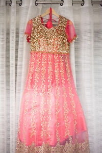 Beautiful Indian Reception Lengha for Sale!