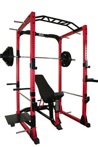 Squat Rack Package with Weights and Bench - New w/ FREE SHIPPING
