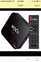 MXiii android TV box brand new in box