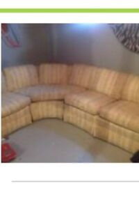 Sectional couch-- best offer!