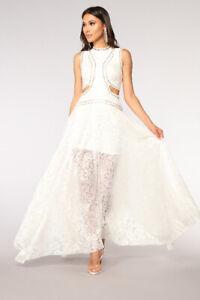 Brand New White Maxi Dresses