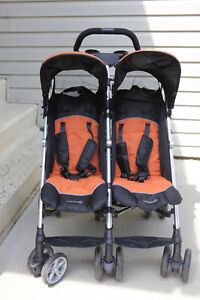 Twin Side by Side Stroller Strathcona County Edmonton Area image 1
