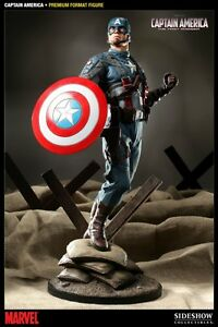 Captain America First Avengers Sideshow Collectibles 1/4 Statue