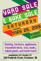 A.R. Goudie Bake Sale & Yard Sale 2018