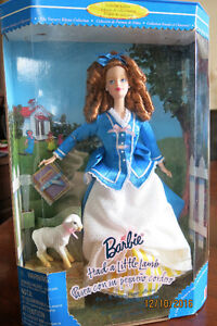 Barbie Collectible - Barbie Had a Little Lamb