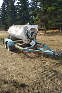 Utility trailer ex-propane trailer used