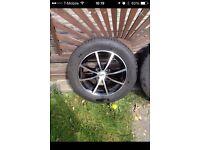 Ford Focus fiesta ka alloy wheels